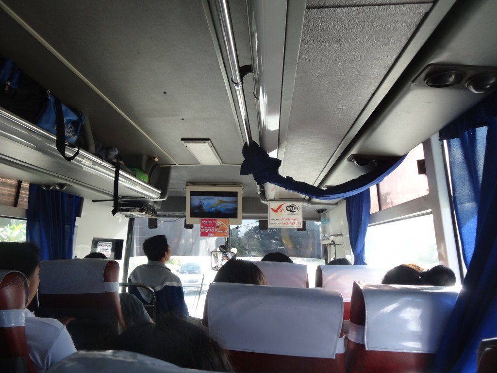 The bus to Lucena
