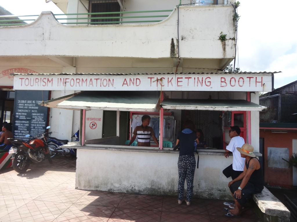 Mauban ticketing booth