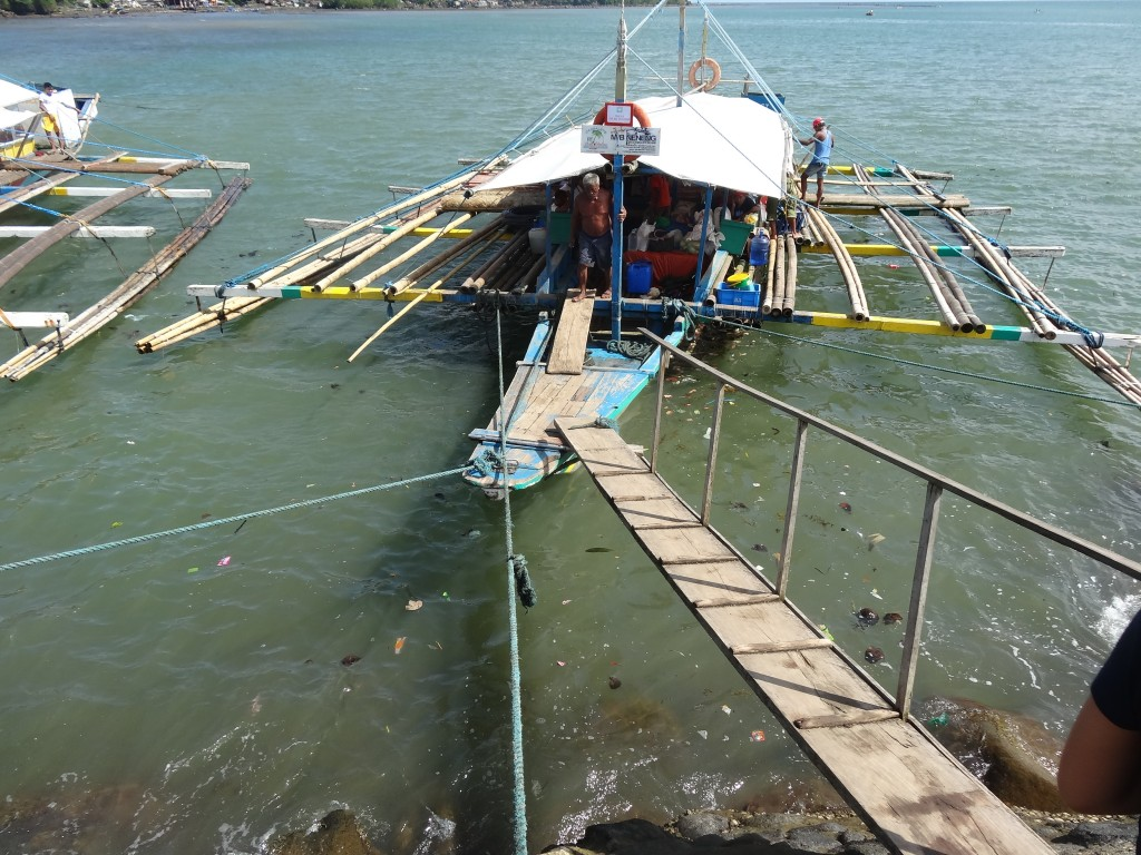 Boat to Cagbalete