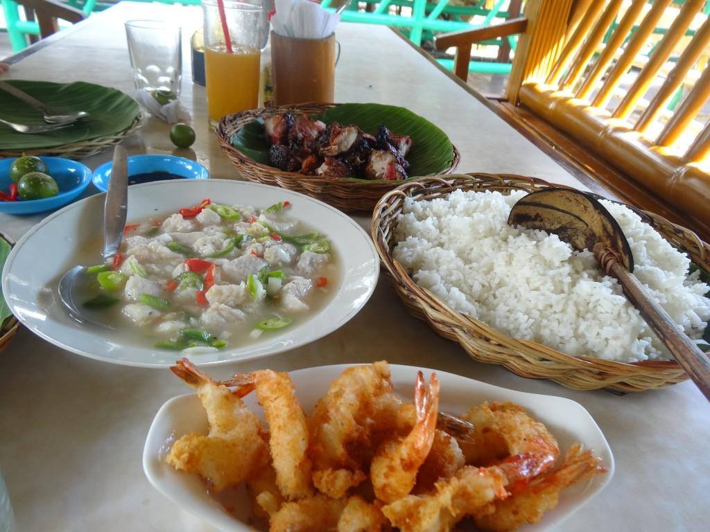 A feast at Palaisdaan
