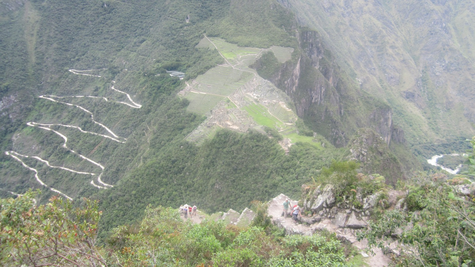 View from Wayna Picchu