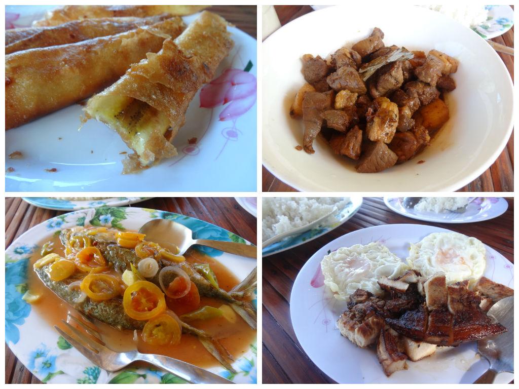 Food at Dona Choleng
