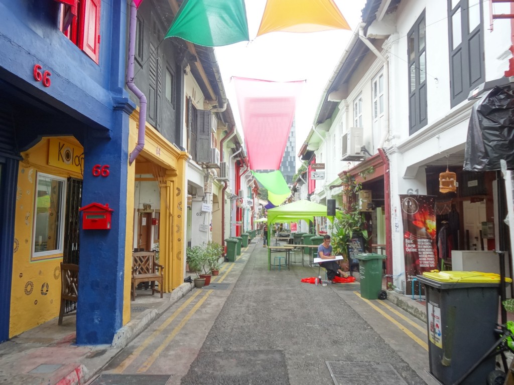 Haji Lane in the Arab quarter