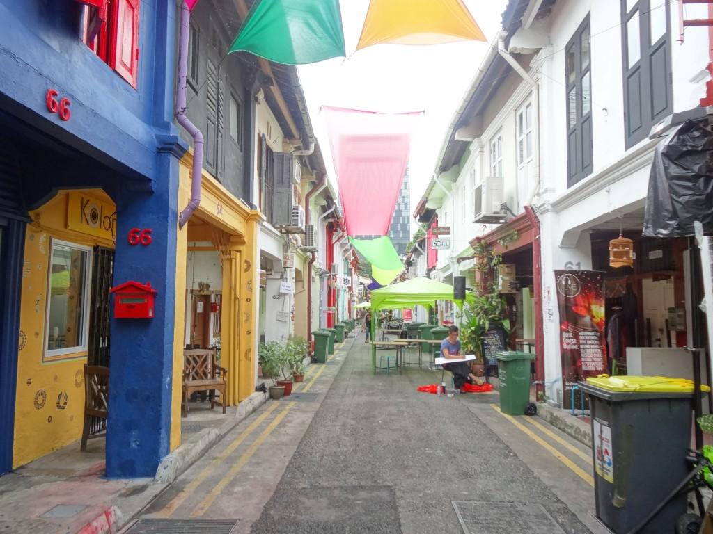 Haji Lane in the Arab quarter
