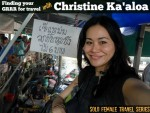 Solo Female Travel: Finding your GRRR for travel with Christine Ka'aloa