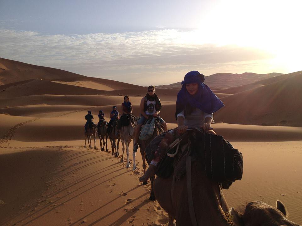Trisha Velarmino, solo female travel tips