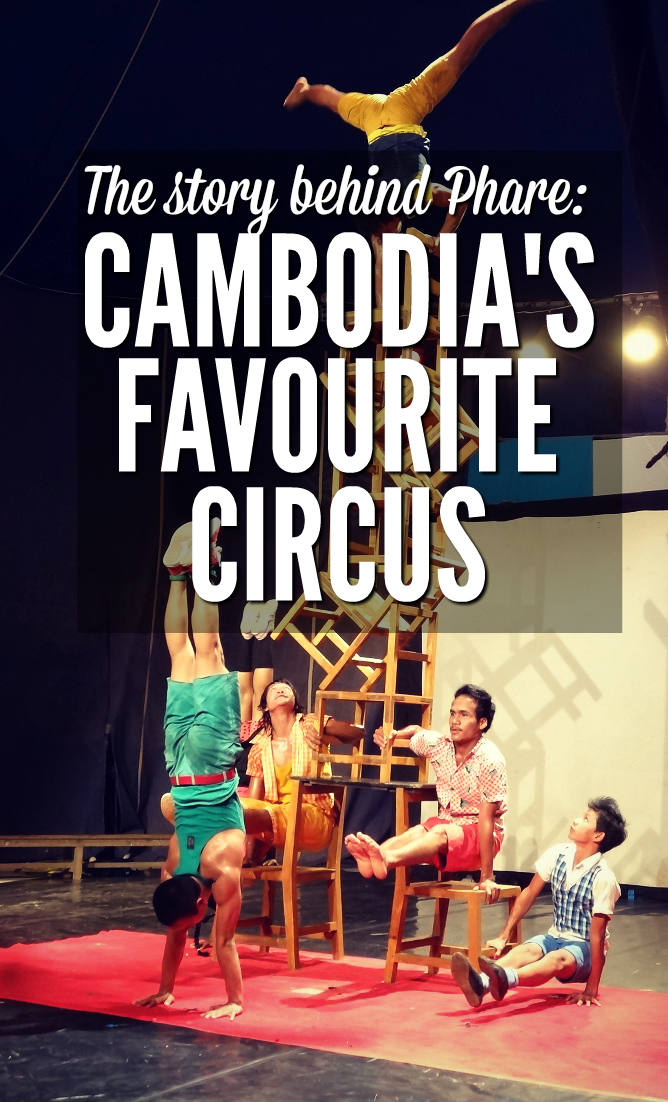 Heading to Siem Reap? Don't miss this incredible circus. Run by an NGO for children orphaned by the genocide, Phare gives the vulnerable a voice through art, circus, and expression.