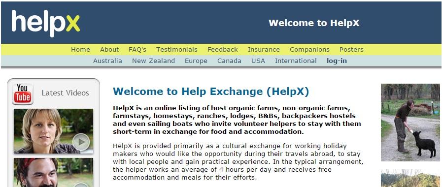 helpx, best travel websites 2015