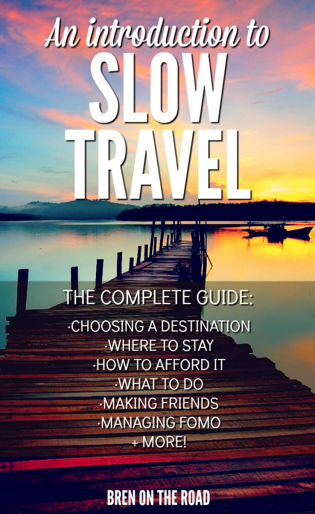 Learn how to create richer relationships, learn new skills and hobbies, and create second homes all around the world. Slow Travel is here to stay.