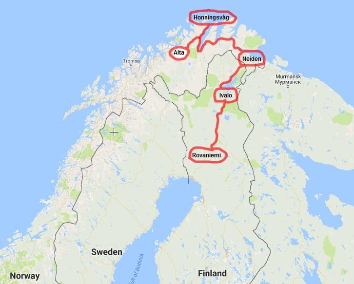 rovaniemi-ivalo-neiden-oldersfjord-honnigsvag-alta