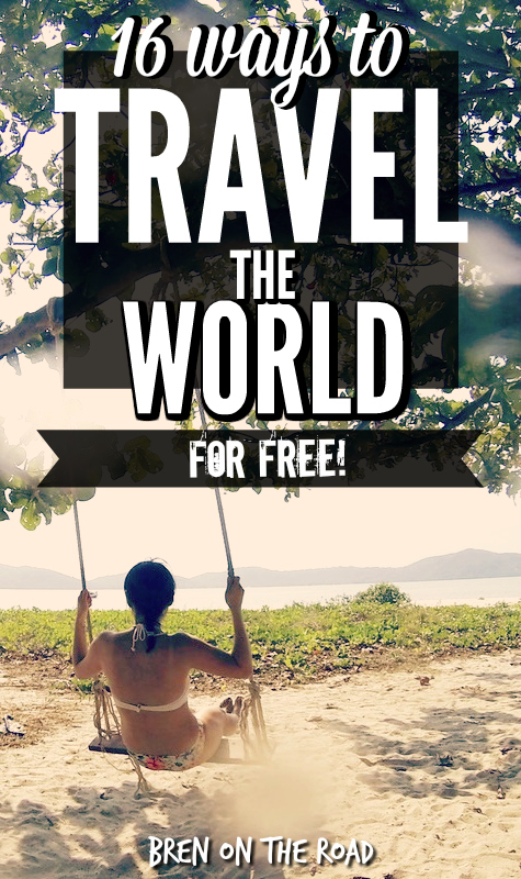 16 ways to travel the world for free yes really