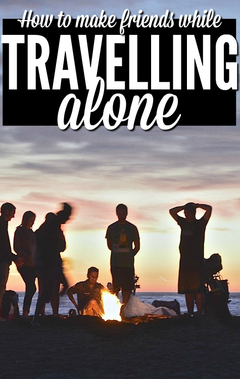 Travelling alone for the first time? Not sure how to meet people? This guide shows you all the different ways to make friends on the road and how easy it is - Perfect for a newbie backpacker!
