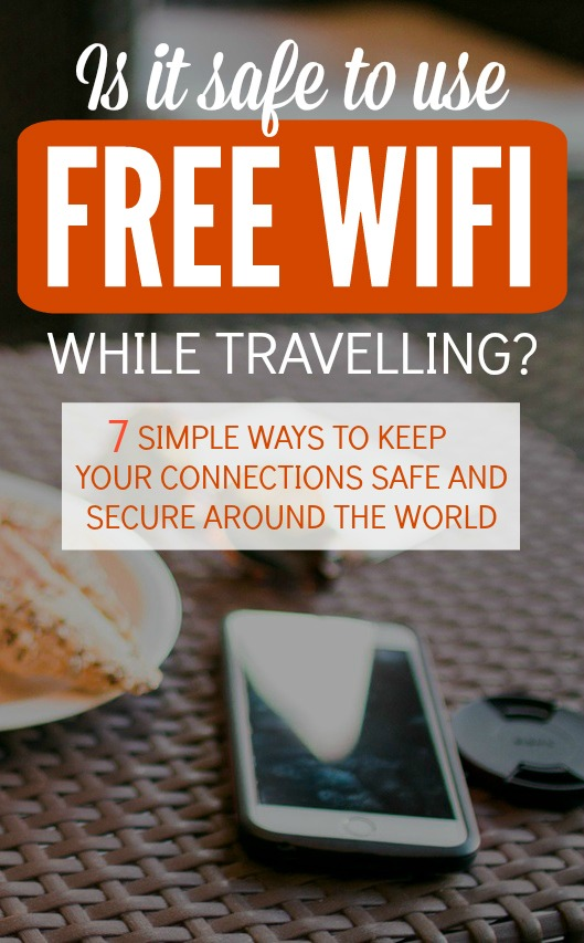 Using free wifi? Whenever you connect to a network unsecured, everything on your phone and laptop is open season. Emails, text messages, photos, tax information, bank accounts. Use these 7 simple tips to protect yourself and your infomation next time you connect to that free wifi network.
